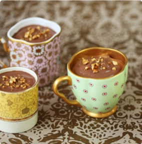 ian marbers divine pots au Chocolate