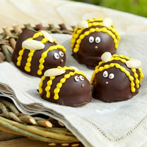 too adorable - A squadron of Bettys ganache bumble bee's
