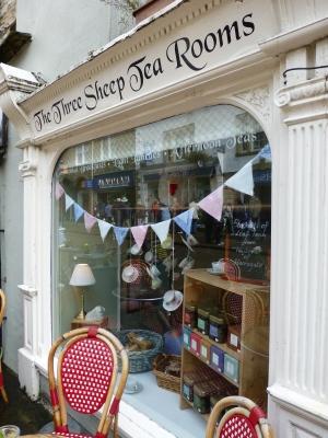 Delightful Three sheep tea room in Skipton Yorkshire