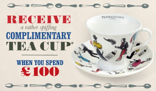 Spiffing Tea Cup by Penhaligon's