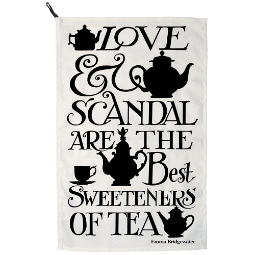 Love & Scandal Tea Towel - Just the thing to dry your dishes